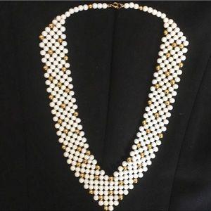 80s Era Beadwork Necklace